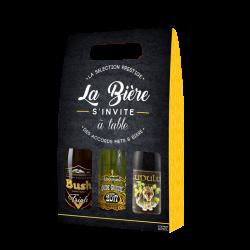 COFFRET TRIPEL KARMELIET 4*33CL + 1 VERRE