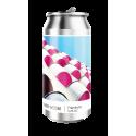 COFFRET TRIPEL KARMELIET- BOIS 1 BOUTEILLE 75CL + 2 VERRES